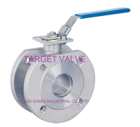 1-PC Flanged Ball Valve