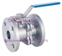 2-PC Flanged Ball Valve