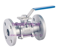 3-PC Flanged Ball Valve (10K)