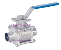 3-PC Sanitary Ball Valve