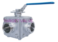 3- / 4- / 5- Way Sanitary Ball Valve