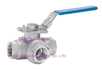 3 Way Ball Valve (ENCONOMIC TYPE)