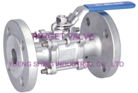 3-PC Flange Ball Valve (PN40)
