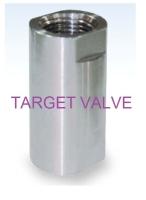1-PC CHECK VALVE (HIGH PRESSURE)
