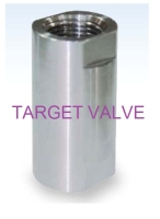 1-PC CHECK VALVE (HIGH PRESSURE)