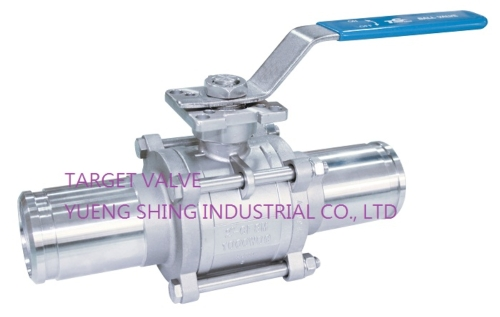 Industrial Lever Ball Valve End : Pc extended grooved end ball valve target