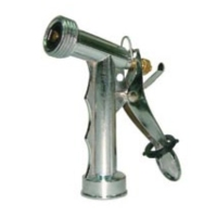 "51/2"" Front Threaded Metal Trigger Nozzle W/Brass Stem &L Nut"