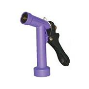 "4 1/2"" Powder Coated Trigger Nozzle W/Brass Stem & Nut Nylon Lever"