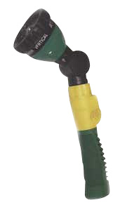 180° Adjusting Multifunction Water Gun With Flex Bar 6-Pattern Plastic Body