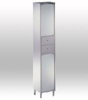 Storage Cabinet W/ Mirror