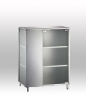 Storage Cabinet W/ Glass