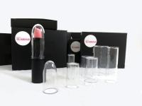 Plastic cap for cosmetics