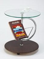 End Table w/Magazine Rack