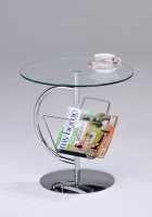 End Table w/Magazine Rack