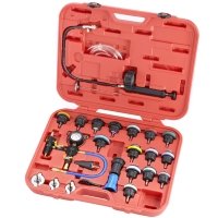 25PC RADIATOR PRESSURE TESTER VACUUM-TYPE COOLING SYSTEM KIT