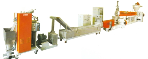 Turnkey Two-stage Plastic-wastw Recycling & Granulating Equipment