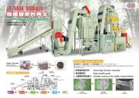 Turnkey Plastic-waste Recycling & Granulating Equipment