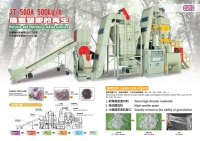 Turnkey Plastic-waste Recycling & Granulating Equipment