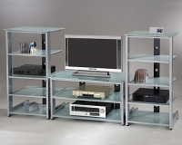 Metal K/D Audio / Video / TV Stands