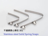 Stainless-steel Solid Spring Snaps