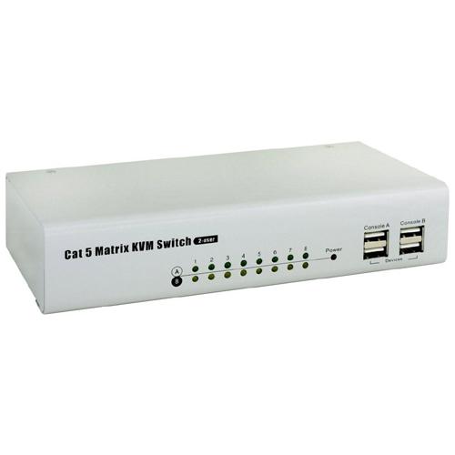 UKS-2825D CAT5 矩陣式電腦切換器