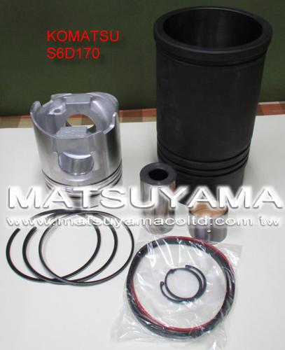 Komatsu Diesel Engine Liner Kits – S6D170