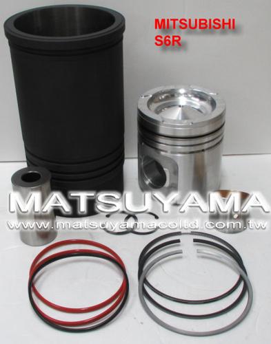 Mitsubishi Diesel Engine Liner Kits – S6R