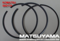 Cens.com Komatsu Piston Ring – S6D170 MATSUYAMA CO., LTD.