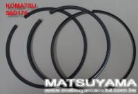 Komatsu Piston Ring – S6D170