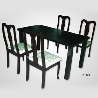 Solid-Wood Dining Table