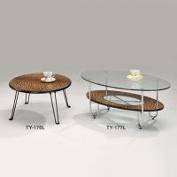 豹紋咖啡桌