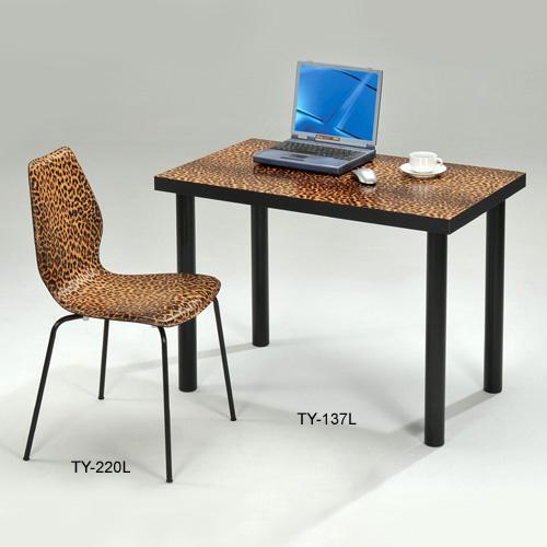 豹纹电脑桌、书桌