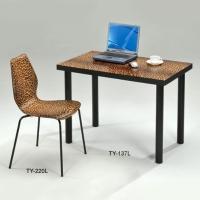 豹紋電腦桌、書桌