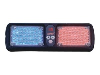 Windshield LED Warning Lights