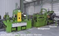Wide Strip End Shear & Welding Machine