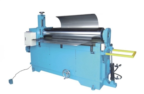 Two-shaft bending rolls