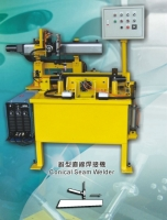 Conical seam welder