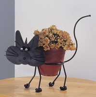 花盆架(貓)