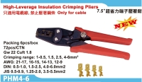 Insulation crimping pliers