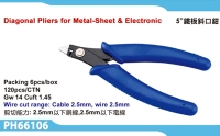 Diagonal Pliers for Metal-Sheet & Electronic