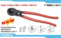 Cable cutters (Max. caliber: 80mm²)