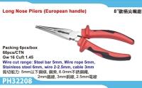 Long Nose Pliers (European Handle)