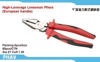 High-Leverage Linesman Pliers (European handle)