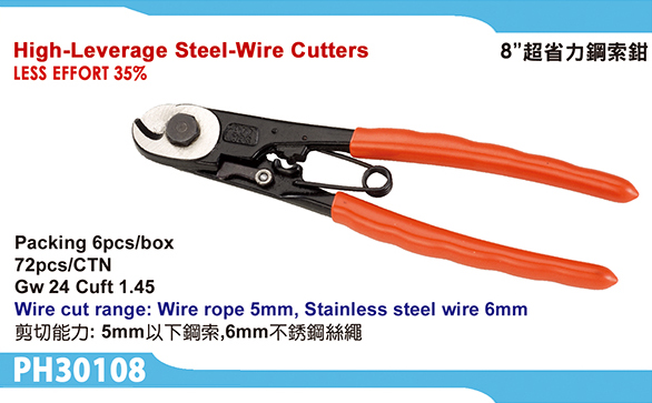 High-leverage Steel wire cutters