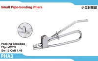 Small pipe-bending pliers