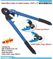 17Steel-Wire Cutters & Cable Cutter (with PAT)
