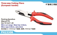 Three+way Cutting Pliers (European Handle)