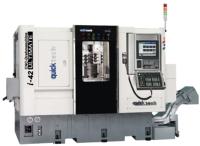 14轴连动加工双程式系统的车铣复合式CNC车床