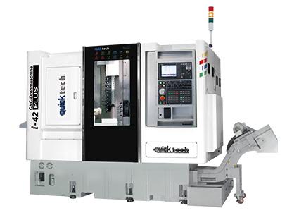 5轴连动加工双程式系统的车铣复合式CNC车床