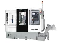 5軸連動加工雙程式系統的車銑複合式CNC車床